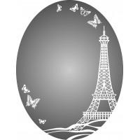 """Зеркало """"Париж"""" 600*780*4 мм."""
