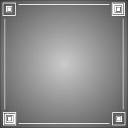 """Зеркало """"Квадро""""-2, 500*500*4 мм."""