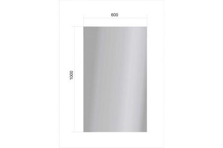 Зеркало 600*1000*4 мм.