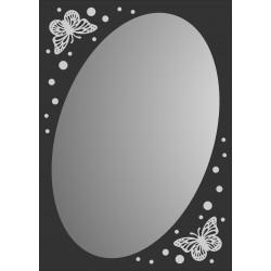 Зеркало MG-03, 500*700*8 мм.