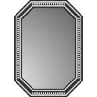 Зеркало  MG-04, 500*700*8 мм.