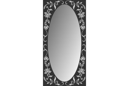 Зеркало MG-07, 500*1000*8 мм.